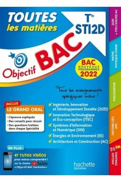 Toutes les matières terminale STI2D : bac 2022, nouveaux programmes