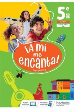 A mi me encanta ! espagnol LV2 5e, A1-A1+ : cycle 4