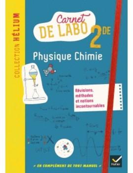 Carnet de labo Physique-chimie 2de (Broché)