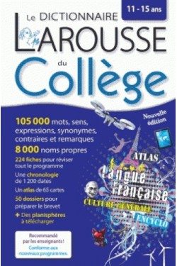 Le dictionnaire Larousse du...