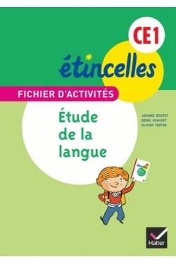 Etude de la langue CE1 - Fichier d'activités