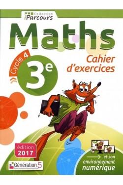 Maths 3e iParcours - Cahier...