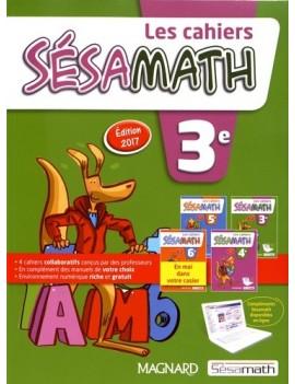 Les cahiers Sésamath 3e - Grand Format Edition 2017