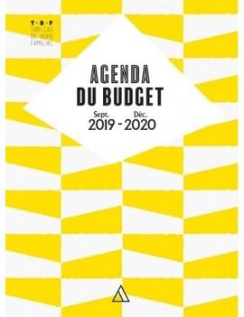 Agenda du Budget - Grand Format Edition 2019-2020