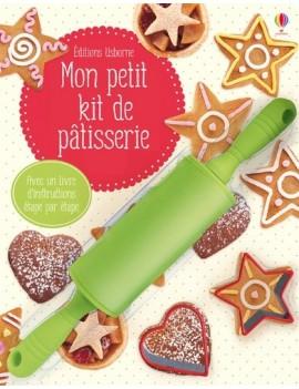 Mon petit kit de pâtisserie - Avec 1 rouleau à pâtisserie et 2 emporte-pièces
