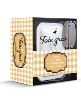 Coffret foie gras - Avec 1 terrine et 1 thermomètre de cuisson