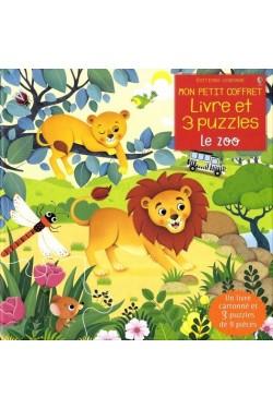 Le zoo - Avec 1 livre...