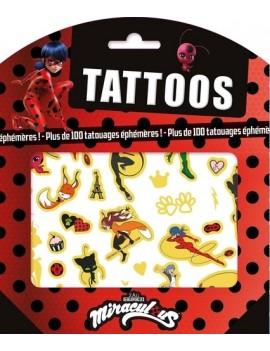 Tattoos Miraculous - Plus de 100 tatouages éphémères !