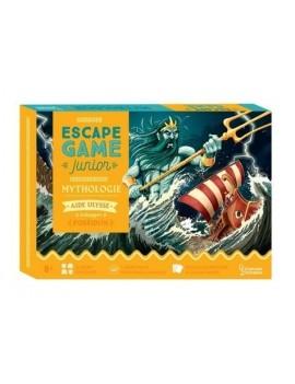Mythologie - Avec 72 cartes doc-énigmes, 9 enveloppes, 1 carte marine, 1 lettre, 1 carnet de bord, des pions
