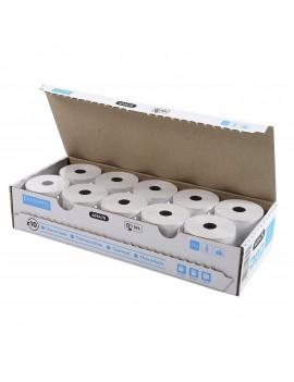 BOBINES TPE - TICKETS CARTES BANCAIRES- 57X40MM- CARTON DE 10- 40349E