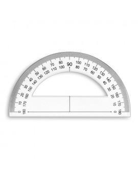 Rapporteur 180 degrés 120mm