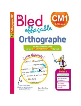 Le BLED effaçable Orthographe CM1