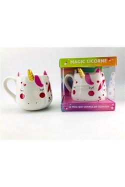 Mug magic licorne - Avec 1...