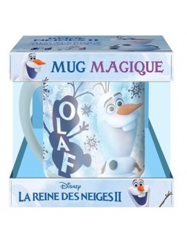 La Reine des Neiges - : LA REINE DES NEIGES 2 - Coffret mug magique - Olaf