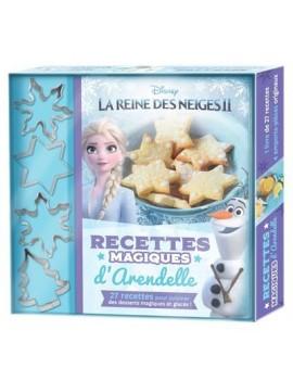 La Reine des Neiges II - Recettes magiques d'Arendelle, avec 4 emporte-pièces originaux