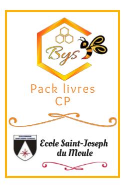 Pack livres CP - Saint...