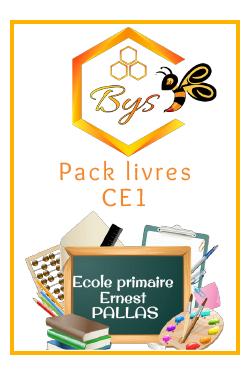 Pack livres CE1 - ERNEST...