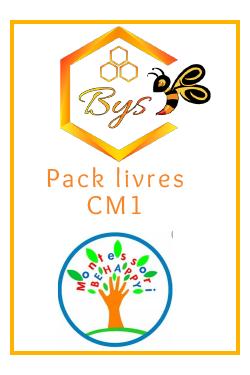 Pack livres CM1 -...