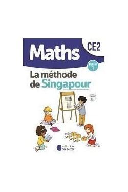Maths CE2 La méthode de Singapour - Fichier 1 - Grand Format Edition 2021