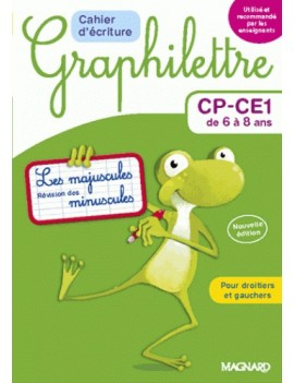 Cahier d'écriture Graphilettre CP-CE1 de 6 à 8 ans
