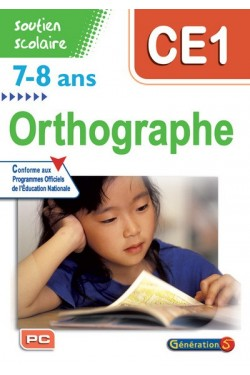 Orthographe CE1, 7-8 ans