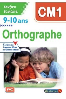 Orthographe CM1, 9-10 ans