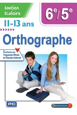 Orthographe 6e-5e, 11-13 ans