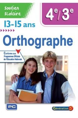 Orthographe 4e-3e, 13-15 ans