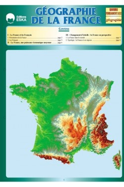Géographie, la France