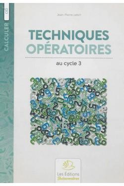 Techniques opératoires au...