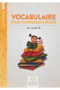 Vocabulaire pour...