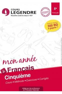 Mon année de français 5e :...