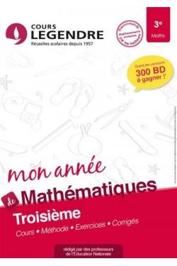 Mon année de mathématiques...