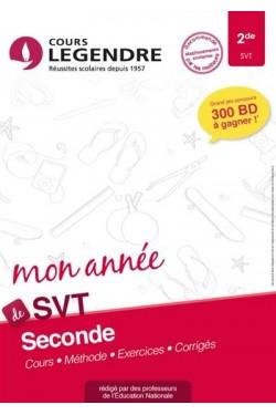 Mon année de SVT 2de :...