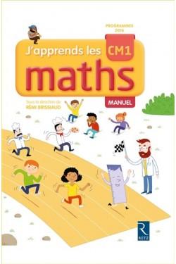 J'apprends les maths CM1 - Manuel + cahier d'activités - édition 2017