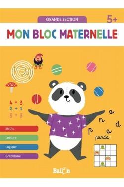 Mon bloc maternelle 5+ :...