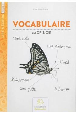 Vocabulaire : au CP & CE1,...
