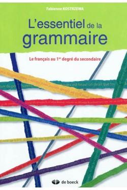 L'essentiel de la grammaire...