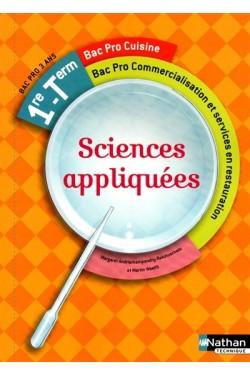 Sciences appliquées : 1re,...