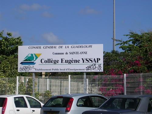 Sainte-Anne, Établissement Eugène YSSAP